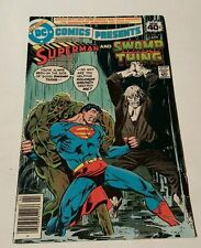 Dc comics presents # 8 , swampthing