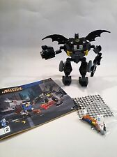 LEGO DC COMICS BATMAN MINIFIGURE + BAT MECH ARMOUR SUIT SPLIT FROM SET 76026