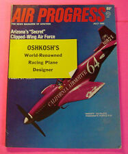 AIR PROGRESS MAGAZINE JULY/1968...LATEST CESSNA 172 AND SKYHAWK....AERONEWS