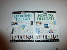 Learning to Lead : Effective Leadership by Robert Heller & How to Delegate PB141