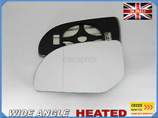 Wing Mirror Car Glass HYUNDAI i20 2009-2014 Wide Angle HEATED Left Side