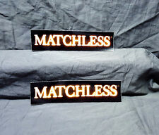 Matchless Amplifiers 2 Sticker Set