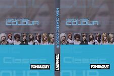 TONI&GUY NEW CLASSIC COLOUR COLLECTION 3 DVDs SET