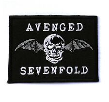 AVENGED SEVENFOLD Music Band Rock Heavy Metal Sew Iron On Patches Free Shipping