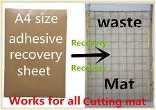 A4 dimensione adesivo adesivo colla recharge foglio tappetino di taglio Ritratto