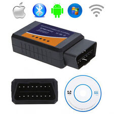 OBD2 II ELM327 Auto Car Diagnostic Scanner Tool Support IOS Android WIFI windows