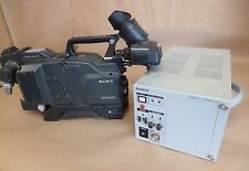 SONY DXC-D50WS TRIAX CAMERA SET W/ CCU-TX7 CONTROL CA-TX7 ADAPTOR & DXF-801 VIEW