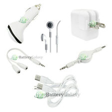 7pc Kit USB Cable+Car+Wall Charger for Samsung Galaxy Tab Note Pro 8.4 10.1 12.2