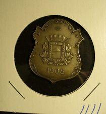 Uruguay 1908 Congreso Internacional Medal