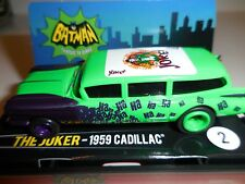 AUTO WORLD ~ The JOKERS '59 Cadillac ~ NEW IN JEWEL CASE ~ Fits AFX, AW, JL