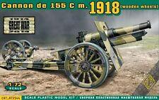 CANNON DE 155 C M.1918 (WOODEN WHEELS) 1/72 ACE 72544