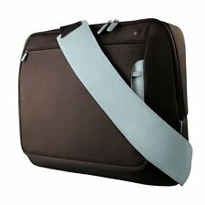 Belkin Messenger Bag for Laptops, Macbooks, Chromebooks up to 17 inch Brown/Blue