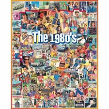 White Mountain Puzzles The Eighties - 1000 Piece Jigsaw Puzzle New