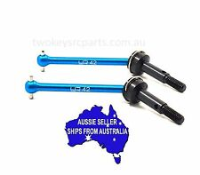 Yeah Hardened alloy & steel FRONT driveshafts - unis to suit Tamiya XV-01 42mm