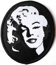 Marilyn Monroe Iron/ Sew on patch, badge, Hollywood