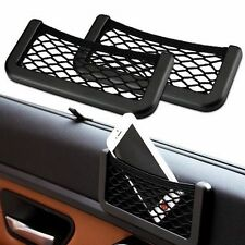 Universal Car Seat Side Back Net Storage Bag For Keys Phone Holder Organier