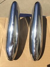 1949 49 Ford Deluxe Custom USED LH RH Front Rear Bumper Guard Pair CORE SET #2