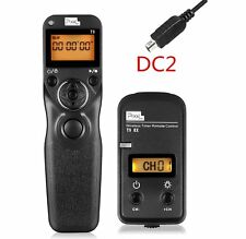 Pixel TW-283/DC2 2.4GHz Wireless Timer Remote for Nikon DE D610 D90 D5500 D3300