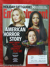 American Horror Story Coven Entertainment Weekly Magazine 11 29 2013 Kathy Bates