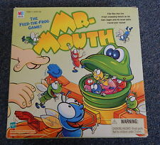 Mr. Mouth Game Feed the Frog Flies 1999 Milton Bradley COMPLETE & WORKS! R12202