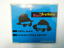 The Blues Brothers ‎– Soul Man / Gimme Some Lovin' CD Single Promo PM 1145