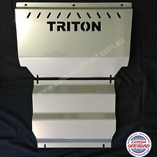 Mitsubishi Triton Bash Plates  ML - MN 3mm Stainless Steel