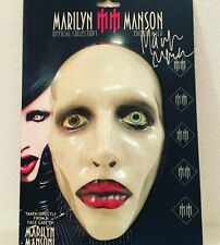 Signed Marilyn Manson Mask and Lunchbox Combo!