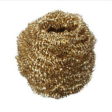 High Quality Gold Solder Iron Tip Cleaner Cleaning Wire Ball 1Pcs