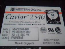 Hard Drive Western Digital Caviar 2540 99-004137-007 540MB 540 AT IDE 40pin