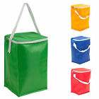 8L Foil Insulated Cooler Bag Lunch Food Cans Ice Box Summer Camping Picnic Bags