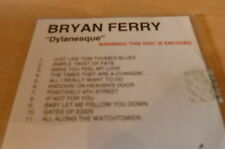 BRIAN FERRY - DYLANESQUE!!!!!!!!!!!!!!! FRENCH PROMO CD