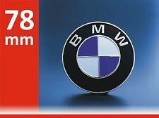 BMW Emblem 78mm Heckklappe 3er 5er 7er 8er X5 Badge Neu Logo e53 e23