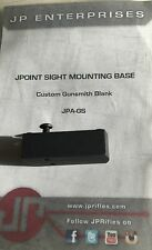 SHIELD MINI SIGHT SMS JPOINT RED DOT UNIVERSAL GUNSMITH MOUNT