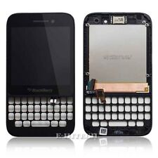 BlackBerry Q5 Complete LCD with Black Frame Digitizer Screen Lens Glass Touch