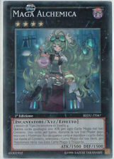 YU GI OH - MAGA ALCHEMICA - REDU-IT047 - SUPER RARA 1° ED. NM
