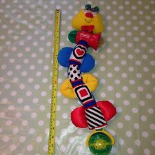 Collectable rare 1998 Caterpillar Rattle Childrens Baby Toy by FISHER PRICE