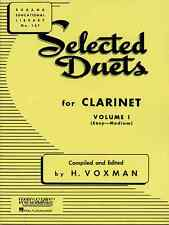 """RUBANK """"SELECTED DUETS"""" FOR CLARINET VOLUME 1 MUSIC BOOK BAND BRAND NEW ON SALE!"""