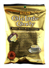 BALI'S BEST CAFE LATTE CANDY W/REAL COFFEE CAFFEINE ON-THE-GO 5.3 OZ BAG