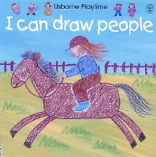 I Can Draw People (Usborne Playtime) by Ray Gibson, Good Book