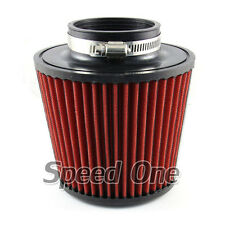 """3"""" Inlet Car Auto Flow Short Ram Cold Air Intake Filter Cone Filter Universal"""