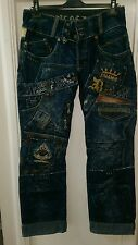 BARRA di magia di Denim Jeans Da Uomo Taglia w33 x l34