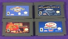 Lot of 4 Nintendo Game Boy Advance Games - SPIDER-MAN 2 ...