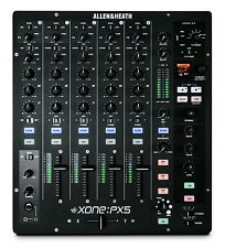ALLEN & HEATH XONE PX5 - 4+1 CHANNEL DJ PERFORMANCE MIXER / Authorized Dealer