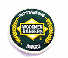 New Vintage Embroiderd Outstanding Woodmen Rangers Award Patch