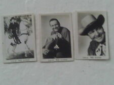 SCARCE 3 PHOTOS 1940 WESTERN COWBOY MOVIE STAR TEX RITTER MINUATURE GIVEAWAY