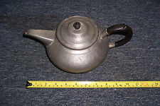 Vintage pewter teapot made by Roundhead ideal period stage film prop decor etc