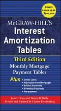 Interest Amortization Tables : Monthly Mortgage Payment Tables by Jack C....