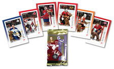 NHL Goalies: Hockey Collectible Souvenir Sheets - Sealed box of 10 Sets of 6
