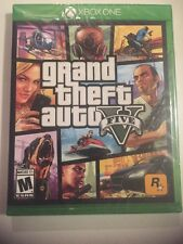 Grand Theft Auto V GTA V 5 Brand New Factory Sealed for Xbox One Free Shipping