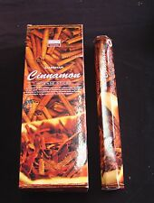 DARSHAN INCENSE 6 HEXAGONALS BOXES 120 STICKS CINNAMON SCENT
